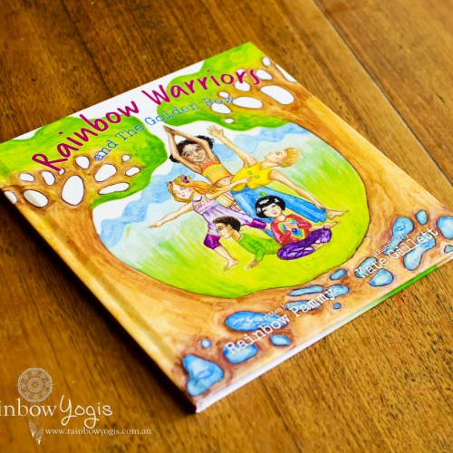 Book Cover - Rainbow Warriors and the Golden Bow - Hardcover